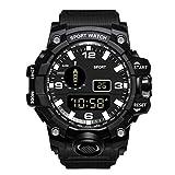 Obestseller Mode Herren Quarz Business Casual Sport Design Herrenuhr, HONHX Herren Digital LED Uhr Datum Sport Herren Outdoor Elektronische Uhr