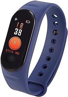 Pulsera de Actividad, Reloj Inteligente con Pulsómetro y Presión Arterial,Relojes Deportivos GPS Impermeable IP67 Monitor de Ritmo Cardíaco,Reloj Fitness Podómetro para Mujer Hombre Niños