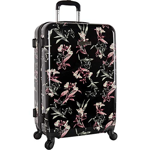 Vince Camuto Women's Carry-on Hardside Spinner, Black Lilllies, 20