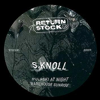 Pulaski at Night/Warehouse Sunrise