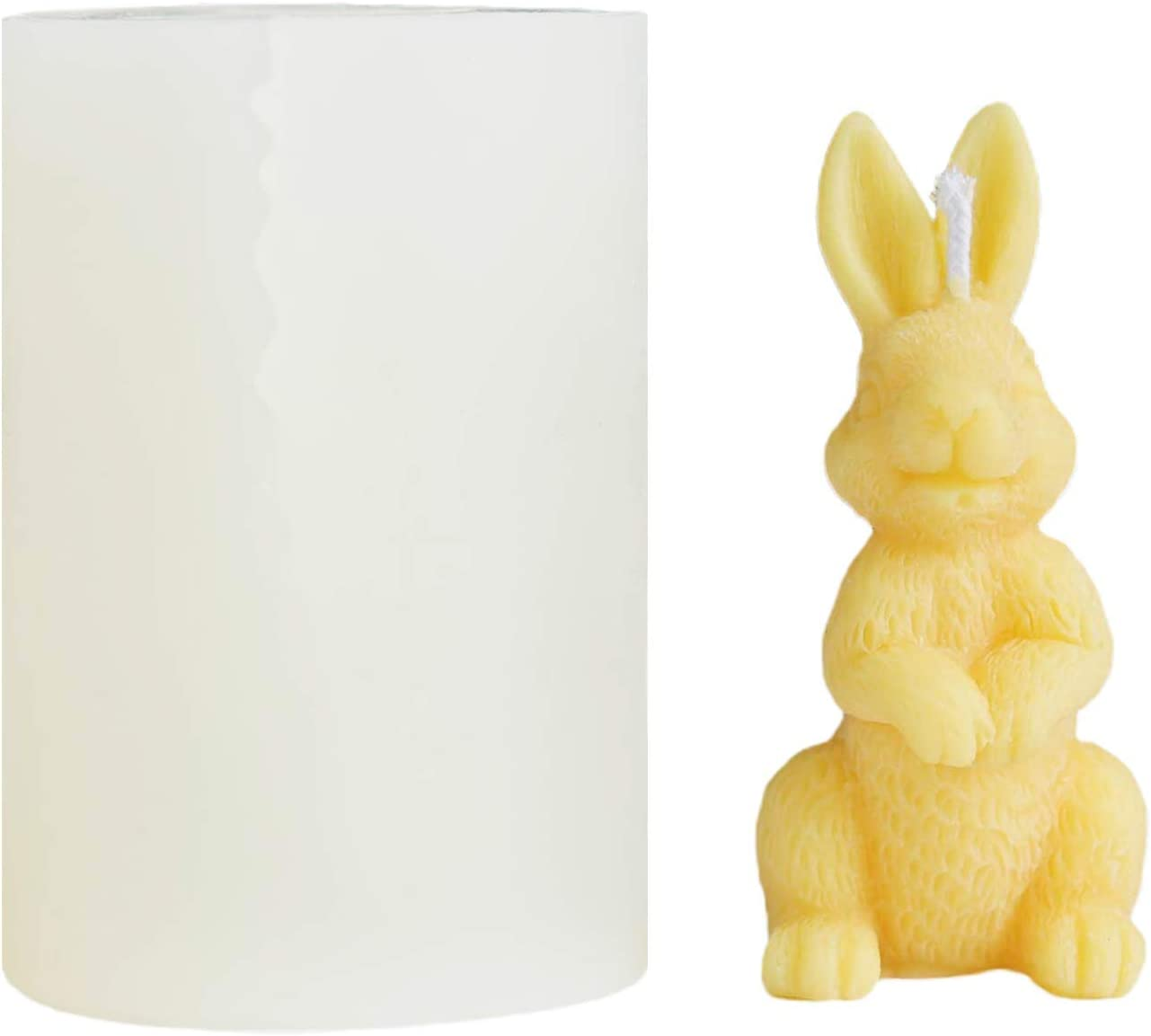 Max 85% OFF CUTEH Silicone Rabbit Bunny Candle DIY Soap for Luxury goods Molds