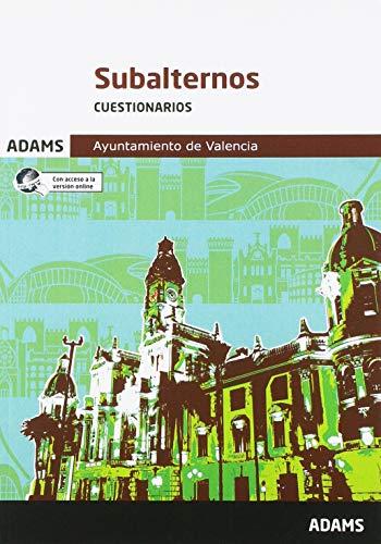 Cuestionarios Subalternos Ayuntamiento de Valencia