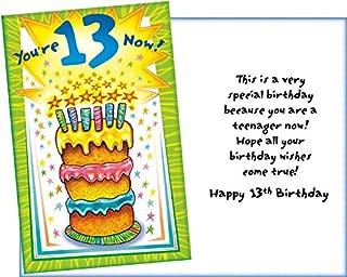 Prime Greetings Happy 13th Birthday Card