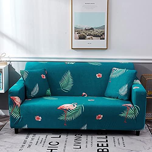 PPOS Funda de sofá de Esquina elástica para Sala de Estar, Funda de sofá para sofá, Asiento de Soplo, decoración del hogar, Funda de sofá A14, 3 Asientos, 190-230cm-1pc