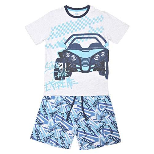 YATSI - Pijama NIÑO TOBOGÁN niños Color: Gris Talla: 10