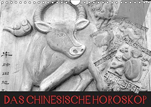 Das Chinesische Horoskop / Geburtstagskalender (Wandkalender 2019 DIN A4 quer): Die zwölf Tierkreiszeichen der Chinesischen Astrologie (Geburtstagskalender, 14 Seiten ) (CALVENDO Glaube)