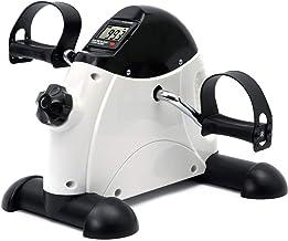 DECELI Under Desk Bike Pedal Exerciser – Portable Mini Exercise Bike for Arm/Leg..