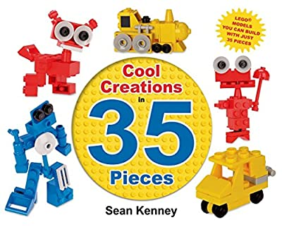 Cool Creations in 35 Pieces is a wonderful book to get them started with LEGO!
