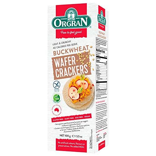 Orgran - Multigrain Wafer Cracker - Buckwheat - 100g