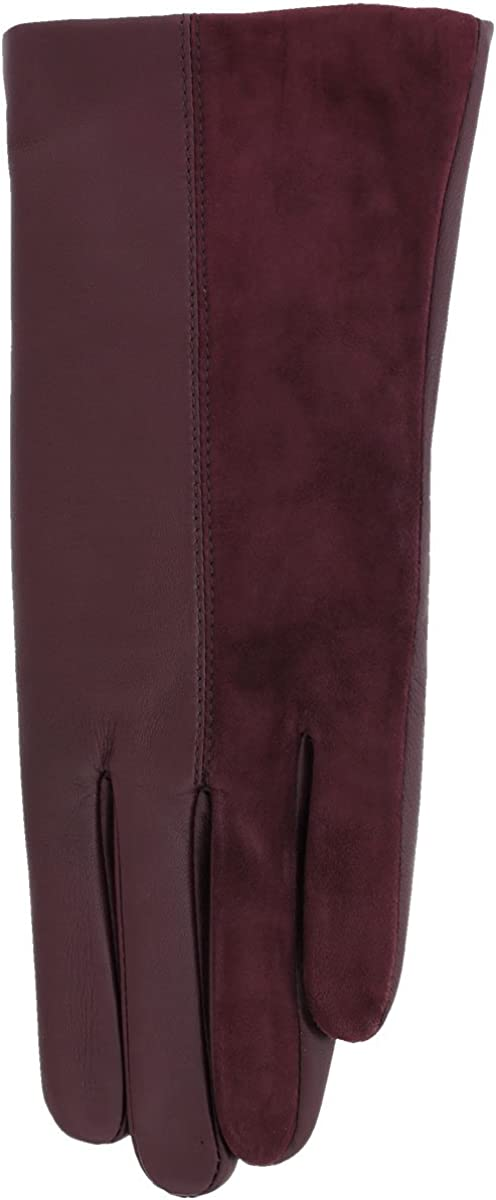 Ladies 2 Tone Grandoe Cire Ingenious Womens Comfort IQ Leather Gloves