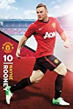 1art1 63270 Fußball Poster - Manchester United, Wayne