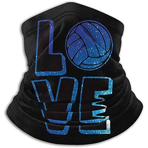 Ich Liebe Volleyball Halswärmer Gamasche Ski Gesichtsmaske Cover für den Winter