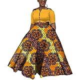 iooiooi Womens Half Sleeve African Wedding...