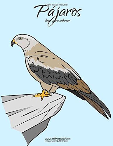 Loros y Pájaros libro para colorear 1: Volume 1