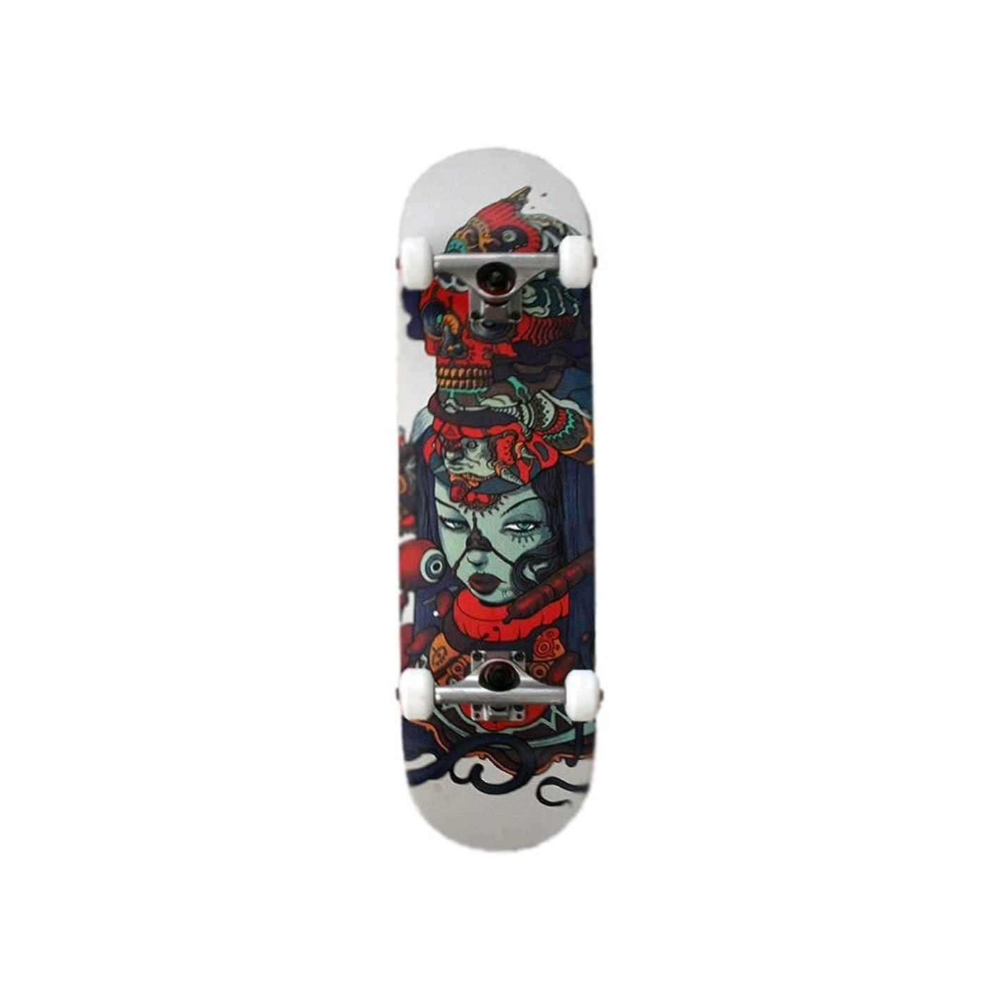 卵福祉カヌーHXGL-スケートボード 子供向けのダブルキック凹面デザインの31.5