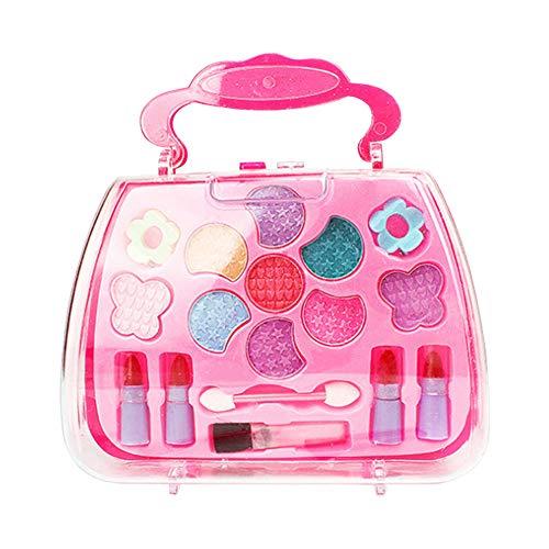 Lanceasy Princess Toys - Juego de Herramientas de Maquillaje para niña