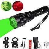 Lampe de Poche LED Rechargeable, Lampe Torche 350 Lumens 250 Mètres, Étanche Lampe de...