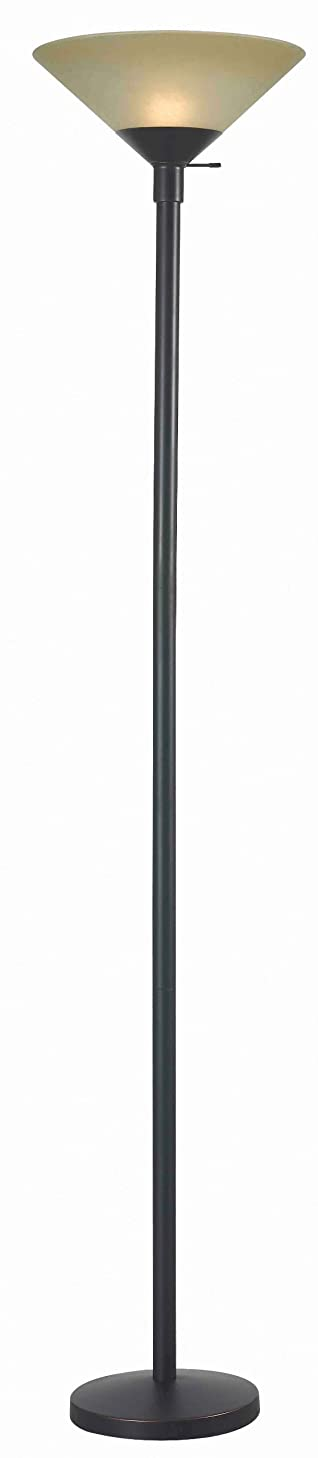 Kenroy Home 32110ORB Wendell Torchiere Floor Lamp, Oil Rubbed Bronze