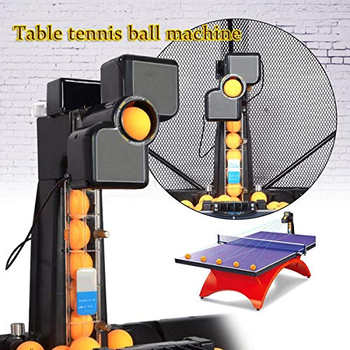 Cheapest Prices! 50W Table Tennis Robot with Catch Net Automatic Ping Pong Robot Machine for Ping Po...