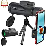 12X50 Dual Focus Monocular Teleskop, Zoom Optische Linse Wasserdichter Shockproof Monocular-Bereich mit niedriger Nachtsicht für stabile Vogelbeobachtung / Camping / Wandern / Überwachung / Reisen.