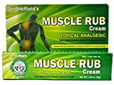Dr. Sheffield's Muscle Rub Cream Topical Analgesic 1.25 Oz