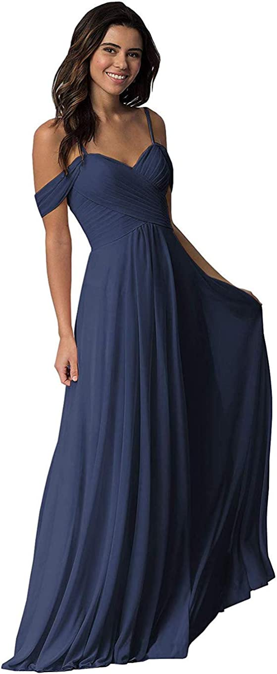 Off The Shoulder Bridesmaid Dresses Max 86% OFF Max 46% OFF Chiffon Women For Sweetheart