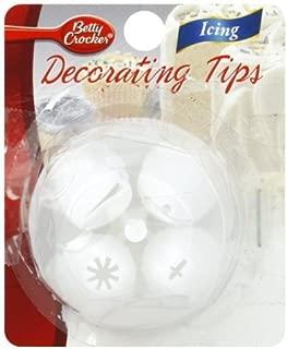 Bc Plas Decor Tips Size 12s Betty Crocker Plastic Decorating Tips