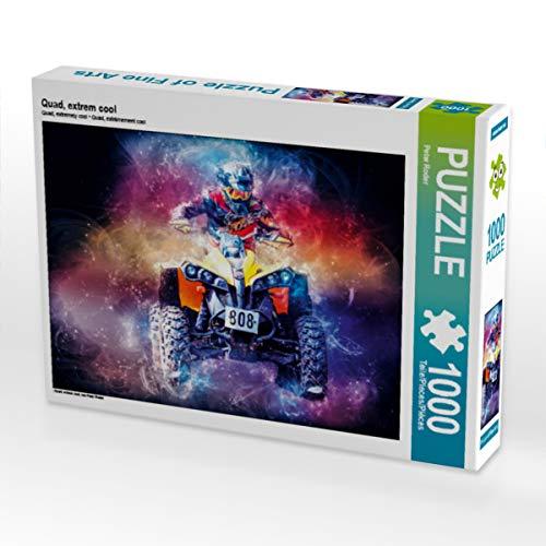 CALVENDO Puzzle Quad, extrem cool 1000 Teile Lege-Größe 64 x 48 cm Foto-Puzzle Bild von Peter Roder