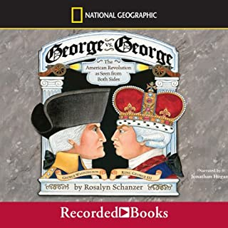 George vs. George audiobook cover art