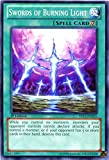 YU-GI-OH! - Swords of Burning Light (YS13-EN021) - Super Starter: V for Victory - 1st Edition - Common
