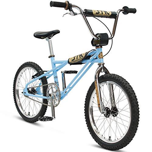SE Bikes STR-1 Quadangle BMX Bike 2020 (30cm, SE Blue)
