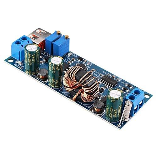 Manyao DC-DC 5V a 3.7V 12V24V 18650 batería de Litio USB Boost Módulos de Alto Rendimiento 45W-80W Fuente de alimentación Ajustable Accesorios Módulo