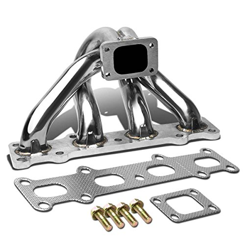 Replacement for Mazda Miata MX5 1.8 Stainless Steel T25/T28 Top Mount Turbo Manifold