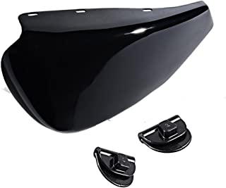 Glossy Black Left Side Battery Cover Compatible with 2004-2013 Harley Sportster XL 1200 883