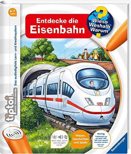 tiptoi® Entdecke die Eisenbahn (tiptoi® Wieso? Weshalb? Warum?, Band 17)