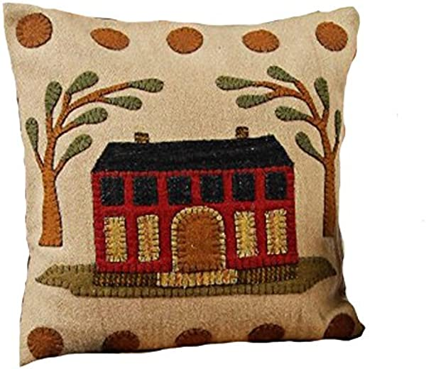 Home Collection By Raghu 14 X 14 Nutmeg The Manor Pillow