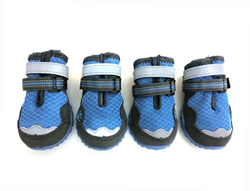 Xanday Breathable Dog Boots,Mesh Dog...