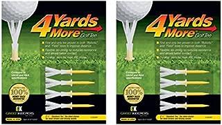 4 Yards More Golf Tee 4-pack Standard 2 3/4