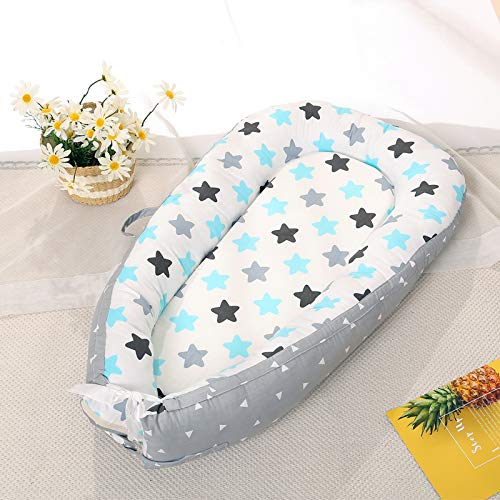 514gDnkg QL - Baby Lounger and Baby Nest Sharing Co Sleeping Baby Bassinet