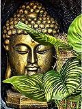 Rompecabezas Puzzles piezas de hojas de rompecabezas y avatar de Buda rompecabezas de madera decoración del hogar educación clásica para adultos y adolescentes juego de beneficio de juguete regalo-15