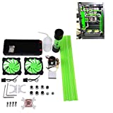 Bewinner Water Cooling Kit for PC 240mm Heat Sink CPU Water Block LED Fan Computer Cooling Kit Water Chiller Water Cooling Systems