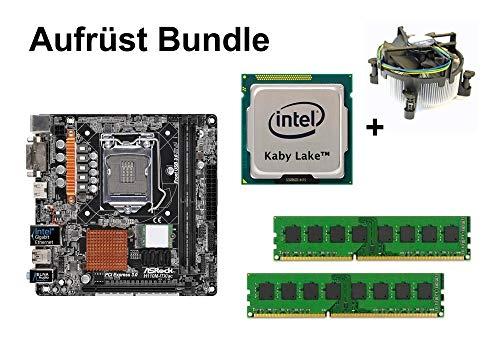 Aufrüst Bundle - ASRock H110M-ITX/ac + Intel Pentium G4560 + 8GB RAM #108739