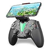 IFYOO PS4 Bluetooth 無線 コントローラー ワイヤレスゲームパッド 、PS4、SLIM、PROをサポートします。 MFiゲームパッドがiPhone、iPad、Mac OSをサポートします。PS4 Remote PlayAndroidスマホ、タブレット、テレビをサポートします - [赤黒]