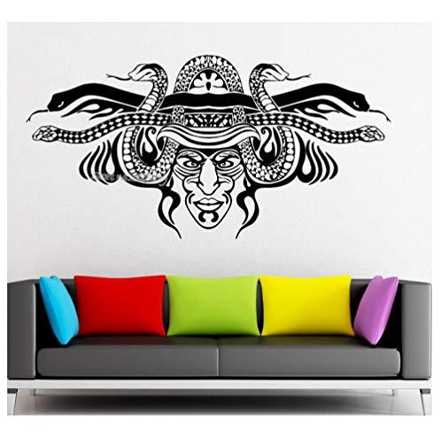 Kaffee Häuptling Savage Schamanen Maske Wandaufkleber Vinyl Aufkleber Wohnzimmer Wohnkultur Kunst Sofa Hintergrund Wand Tattoo Poster Aufkleber