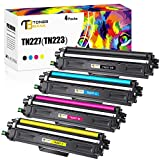 Toner Bank Compatible Toner Cartridge Replacement for Brother TN227 TN-227 TN227BK TN223 for Brother HL-L3210CW HL-L3290CDW HL-L3270CDW HL-L3230CDW MFCL3770CDW MFC-L3710CW MFC-L3750CDW Toner (4 Pack)