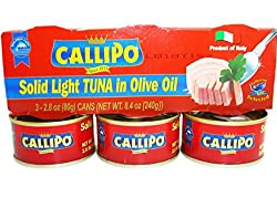 callipo italian canned tuna in olive oil