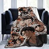 LMHBLTOP Levi Ackerman Blanket Ultra-Soft Flannel Fleece Throw Blanket 50X40 in