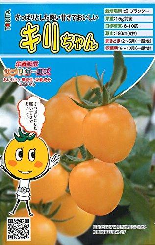 【キリちゃん】ミニトマトの種 (8粒)