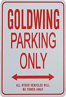 funparkingsign Goldwing Parkplatz nur Zeichen