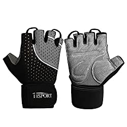 iiSPORT fitness gloves mens training gloves sports gloves for fitness equipment strength training weightlifting and bodybuilding